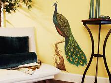 Tatouage Peacock Dry rub Transfer