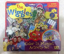 The Wiggles Color in Magnet Activity Set w/30 magnets   2003 Fun-4-All Corp   3+