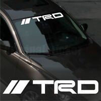 Toyota TRD WINDSHIELD CAR Premium STICKER vinyl decal #2 Corolla Camry Supra