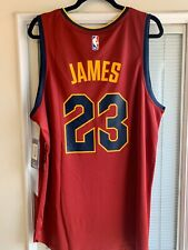 Fanatics Lebron James Cleveland Cavaliers Fast Break Branded Jersey NWT Size L