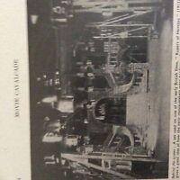 m1e ephemera 1940s film picture rupert of hentzau 1913 studio set