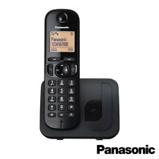 PANASONIC TGC210 CORDLESS DECT SINGLE PHONE WITH CALL BLOCKER KX-TGC210EB