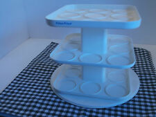 Fisher Price Baby Food Holder 3 rotating shelves -or Used For Jewelry Collection