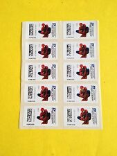 US CVP90 SPIDERMAN Forever Stamp, Limited edition, 10 First Class Stamps, MNH