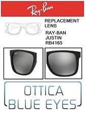 Lenti di Ricambio RAYBAN JUSTIN RB 4165 filtri Replacement Lenses Ray Ban 622/6G
