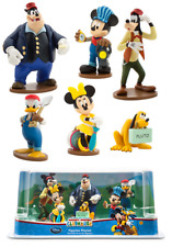 NIB! Disney Store Mickey Mouse Clubhouse Train 6 Piece Figure Set Cake Toppers