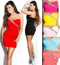 Women's Polyester One Shoulder Stretch, Bodycon Short/Mini Dresses