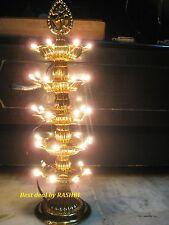 5 Layer Electric Gold Diya   Rice Light Lamp - Diwali   Navratra Home Decoration