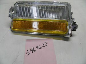 5969628 LIGHT assembly RH clear amber 1978-79 Oldsmobile Cutlass GM NOS part