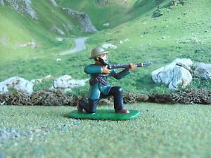 Armies in plastic Boer War Boer kneeling firing 1/32 painted