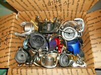 MISC.FISHING REEL ROTORS-USED-A BUNCH THERE-MEDIUM FLATE RATE BOX FULL