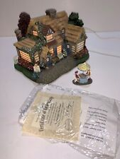 "Thomas Kinkade Hawthorne Village Lamplight Village ""Lamplight Tea Room� 79985"
