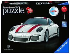 108 Piece 3D Jigsaw Puzzle, Kids, Car, White, Red, Fun