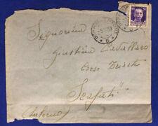 Ufficio Postale Speciale 5 Timbro Arrivo Affrancata 50 Cent. 5.11.1937 #XP172C
