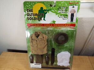 """THE ULTIMATE SOLDIER #31100 1:6 """"USMC DRILL SARGENT"""" Uniform set NEW in PACKAGE"""