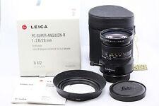 *EXC+* Leica PC-Super-Angulon-R 28mm f2.8 1:2.8/28 R6 R6.2 R8 R9 M240 DMR MP SL