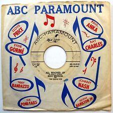 BEAU BRUMMEL & CASTLE FIVE 45 All Washed Up / Til I Waltz PROMO Rocker w1431