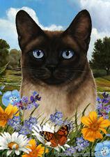 New listing Summer House Flag - Siamese Cat 18953