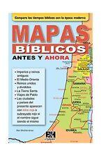 Mapas biblicos antes y ahora (Coleccion Temas de Fe) (Spanish E... Free Shipping