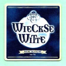sous-bock WIECKSE WITTE BIÈRE BLANCHE bierdeckel coaster bierviltje Lot 1612
