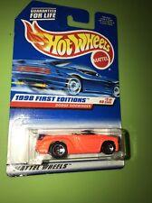 Hot Wheels 1st Editions 3/40 Orange Dodge Sidewinder Pickup Truck, Free Ship