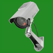 Manichino Solare Alimentato a Infrarossi Telecamera Di Sicurezza Pallottola con luce LED lampeggiante