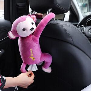 Monkey Tissue Boxes Car Tissue Box Napkin Holder Tissue Box Holder for Car Car A