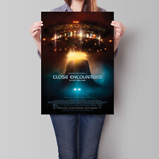 Close Encounters of the Third Kind Movie Poster 16.6 x 23.4 in (A2)