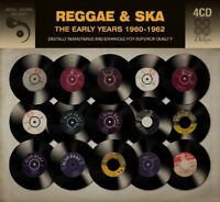 REGGAE&SKY THE EARLY YEARS 1960-62 (BOB MARLEY,JOHN HOLT,BYRON LEE,...) 4CD NEW!