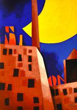 EMILIO TADINI cm 35x50 OFFERTA Opera SERIGRAFIA in SCONTO Quadro ORIGINALE Arte