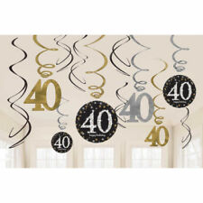 Foil Birthday, Child Less than 1 m Party Banners, Buntings & Garlands