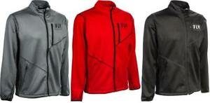 Fly Racing Mid-Layer Jacket New 2020 Multi-Colors BLACK/ARCTIC GREY/ RED