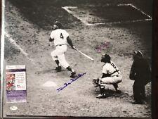 Duke Snider & Yogi Berra Signed Dodgers 16x20 Photo *1955 WS Champs JSA