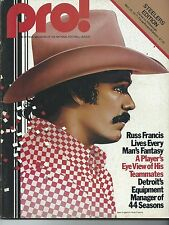 1977 Dallas Cowboys vs Pittsburgh Steelers Game Program