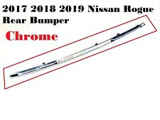New Fits 17-19 Nissan Rogue Rear Bumper Chrome Trim Accent Molding 85072-5HK0A