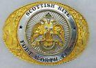 Vtg 32nd Degree Scottish Rite Fort Worth, Texas Belt Buckle Ltd. Edition No. 64