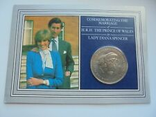UK 1981 Charles & Diana Commemorative Coin in Royal Mint folder, as shown.