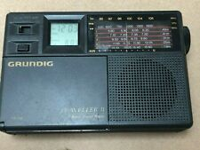 Vintage Grundig Traveller II 2 AM FM Shortwave Travel Radio
