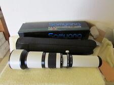 Samyang 650-1300mm f8-16 Telephoto Lens for Digital SLR Cameras White T Mount