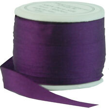 11 YDS (10 M) EMBROIDERY SILK RIBBON 100% SILK 7MM - PURPLE PASSION-by THREADART
