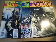 HELLBLAZER SPECIAL : BAD BLOOD #1 - 4 Set DC Vertigo Comics 2000 NM
