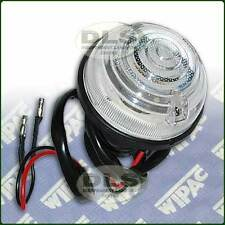 Front Side Lamp WIPAC Land Rover Series 3, Defender to VIN MA940004 (RTC5012G)