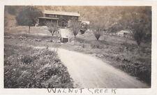 EARLY WALNUT CREEK CALIFORNIA ~ ( 7 PHOTOS ) ~ c. 1920