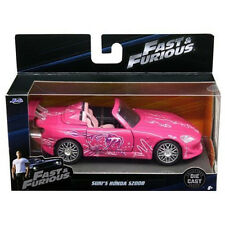 Jada 2001 Honda S 2000 2 Fast and 2 Furious Suki's 1:32 Diecast Car Pink 97610