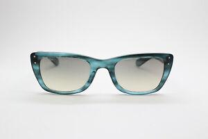 Ray Ban CARIBBEAN RB4148 793/32 Azure Teal Matte Blue/Grey Sunglasses