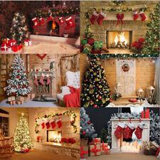 Family Photo Shoot Props Merry Christmas Photography Backdrops Xmas Background