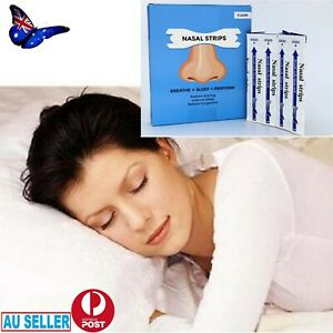 30Pcs Nasal Strip Breath Way Right Stop Snoring Easier Clear Breathe Nose Strips