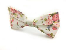 Mens Bowtie Cotton Wedding Business Groomsmen Flower Ties CHOOSE COLOR