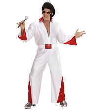 The King Fancy Dress Costume Pop Star Elvis Singer Outfit S Mens Adult
