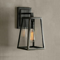 Outdoor Wall Lights Black Chandelier Lighting Glass Wall Sconce Indoor Wall Lamp
